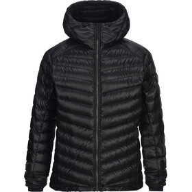 Peak Performance Ice Down Hooded Jas Heren zwart